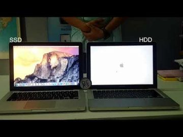 SSD VS HDD - PERBEZAAN KELAJUAN - MACBOOK